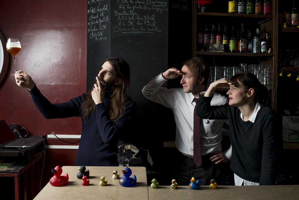 L'équipe du supercoin pour la Paris Beer Week.