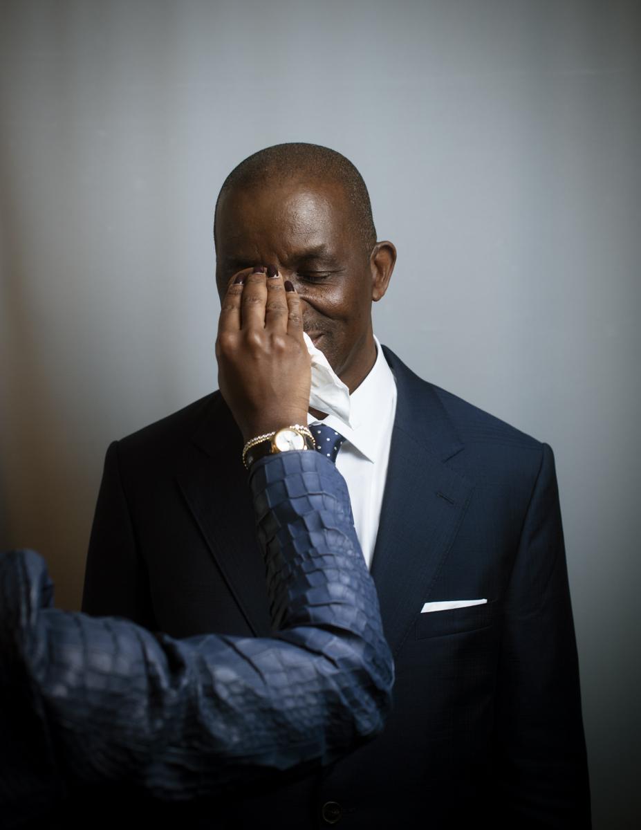 Jean Kacou Diagou pdg de La Nouvelle société interafricaine d'assurances (NSIA) et président de la conféderation générale des entreprises de côte d'ivoire (CGECI).