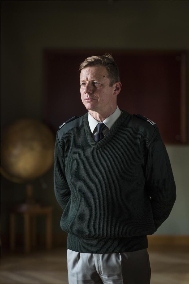 Le colonel Benoit photographié à l'école militaire.