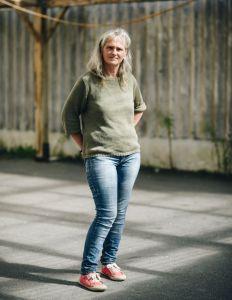 Sandrine Corre, coordinatrice de l'ecole alternative des monts d'arrée.