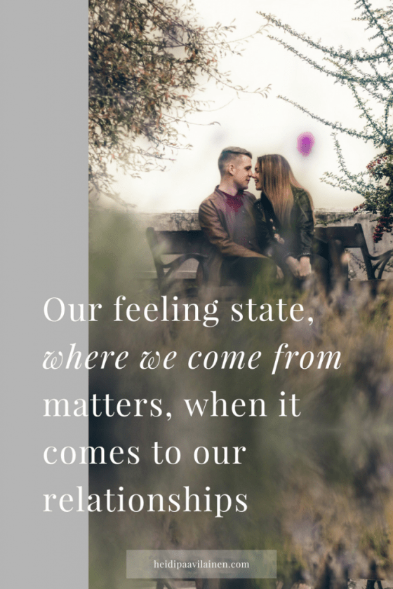 Where we come from matters when it comes to our relationships | Healthy relationships | Relationship advice | Spiritual guidance | Three Principles |