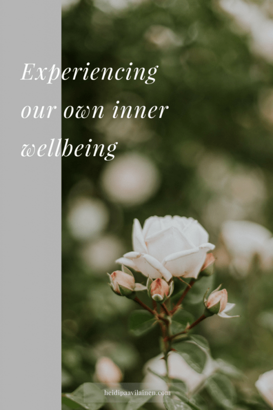 Experiencing our own inner wellbeing | Spiritual guidance | Three Principles | Mental health | Spiritual awakening |   #mentalwellbeling #emotionalwellbeing #spiritualwellbeing #mentalhealth