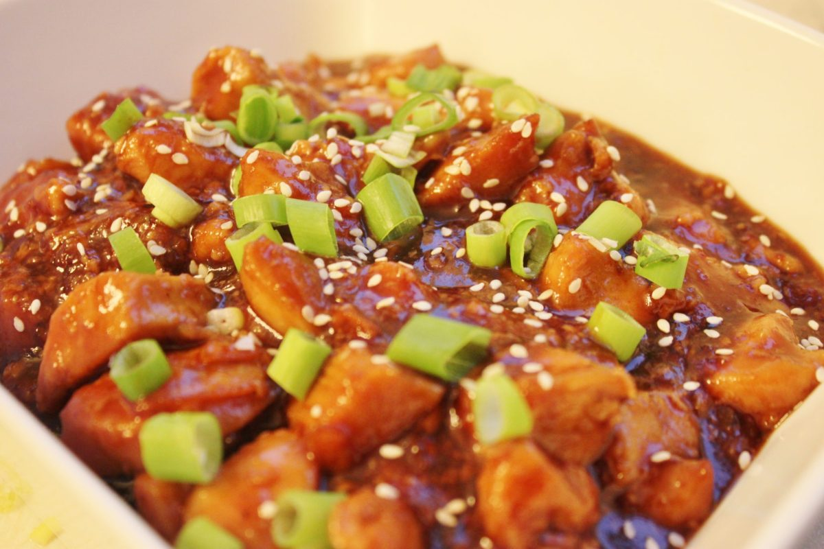 5 Ingredient Crockpot Orange Chicken