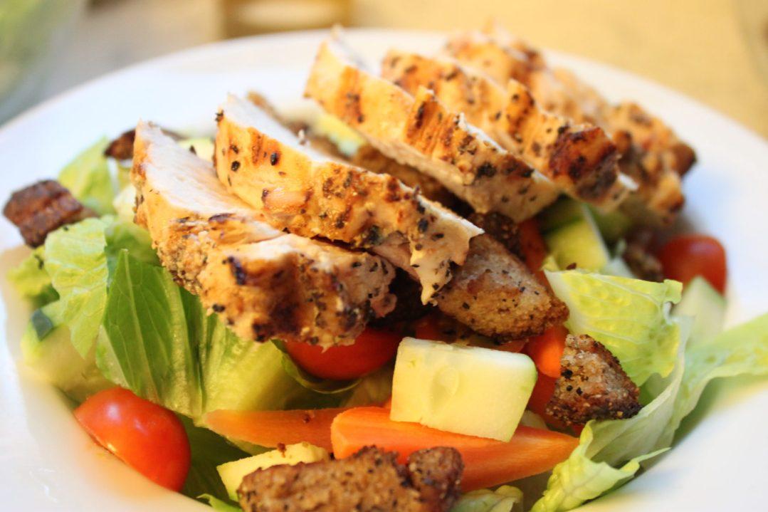 tangy chicken caesar salad