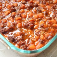 Easy 30 Minute Baked Beans