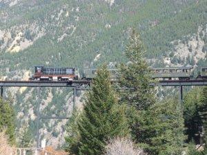 Georgetown Loop Railroad, Georgetown, Colorado.  Photo by H.M. Kerr-Schlaefer.