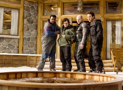 """The cast of """"Hot Tub Time Machine"""" is a group of pretty funny guys, too bad the writers weren't quite as funny."""
