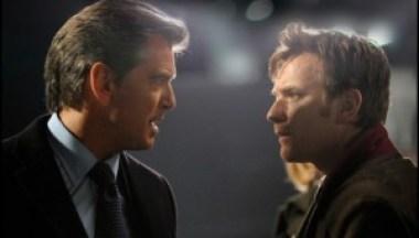 """Pierce Brosnan and Ewan McGregor in Polanski's not-so-thrilling thriller, """"The Ghost Writer."""""""