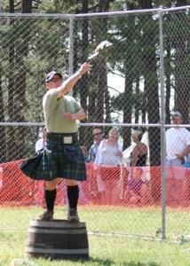 Colorado State Haggis Toss Championships at Elizabeth Celtic Festival