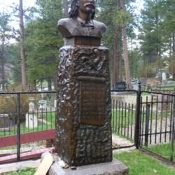 Wild Bill's tombstone in Deadwood, South Dakota