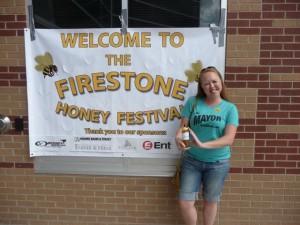 Heidi at Firestone Honey Festival