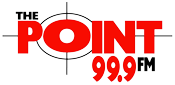 99.9 The Point Logo