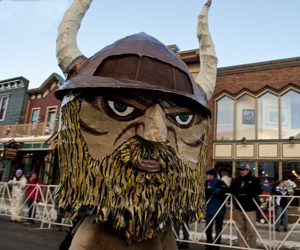 Ullr Fest in Breckenridge Colorado by Carl Scofield