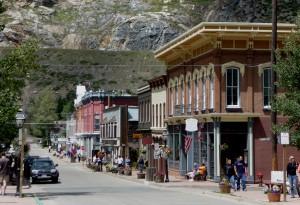historic Georgetown Colorado