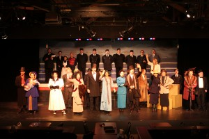 The cast waves goodbye in Titanic at UCDT