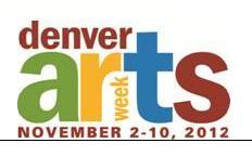 denver arts week logo 2012