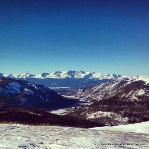 View from Top of the Rockies Zip Line HeidiTown.com