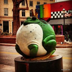 Frog Prince in Downtown Grand Junction. HeidiTown.com