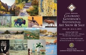 Gov Art Show Invitation