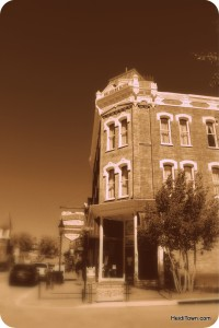 Delaware Hotel sepia Leadville Colorado. HeidiTown.com