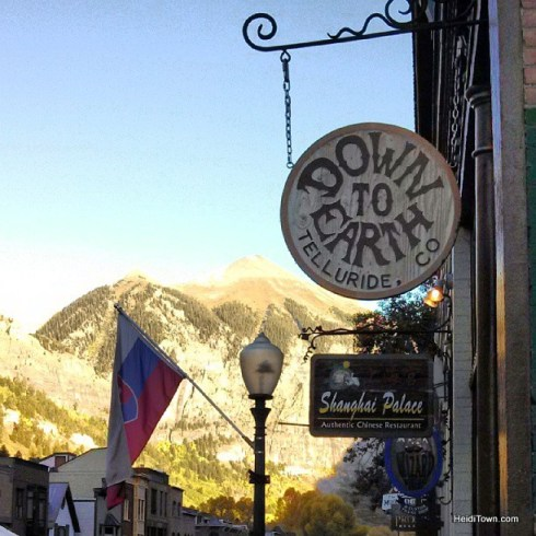 down to earth, a women's clothing store in downtown Telluride