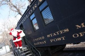Santa Claus at Colorado Railroad Museum