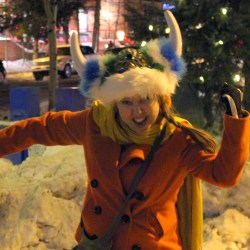 Heidis viking impression at Ullr Fest 2013