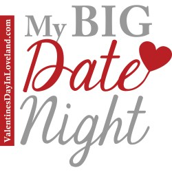 My Big Date Night logo ValentinesDayinLoveland.com HeidiTown.com