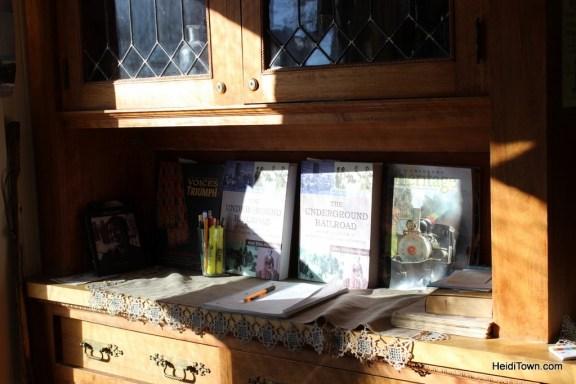 The Underground Railroad book at the Barney Ford Museum in Breckenridge, Colorado. HeidiTown.com