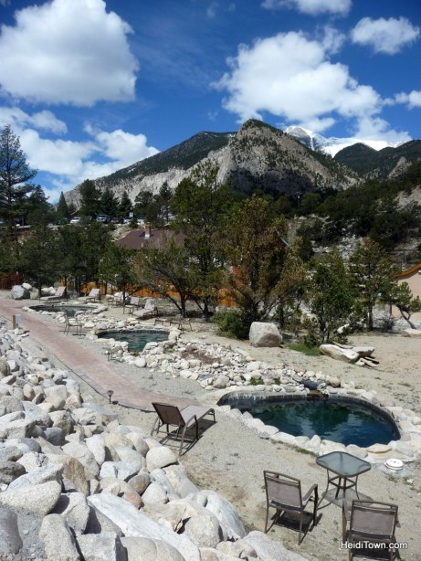 The VIP area for guests-only include these three wonderful hot pools. HeidiTown.com