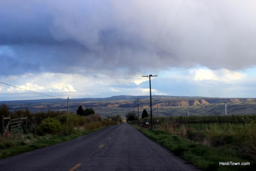 Our short drive from Leroux Creek Inn & Vineyards to downtown Hotchkiss, Colorado. HeidiTown