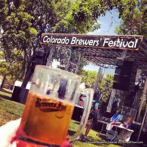 The main stage at Colorado Brewers' Fest 2013. HeidiTown.com