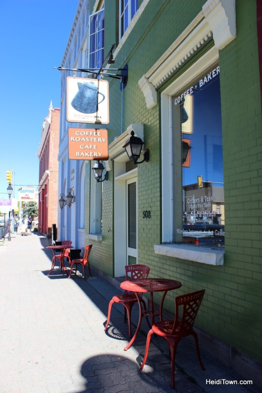 City on the Hill Coffee Shop in Leadville, Colorado. HeidiTown.com