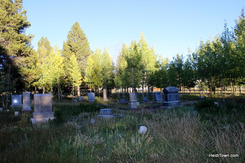 Evergreen Cemetery in Leadville, Colorado. HeidiTown.com