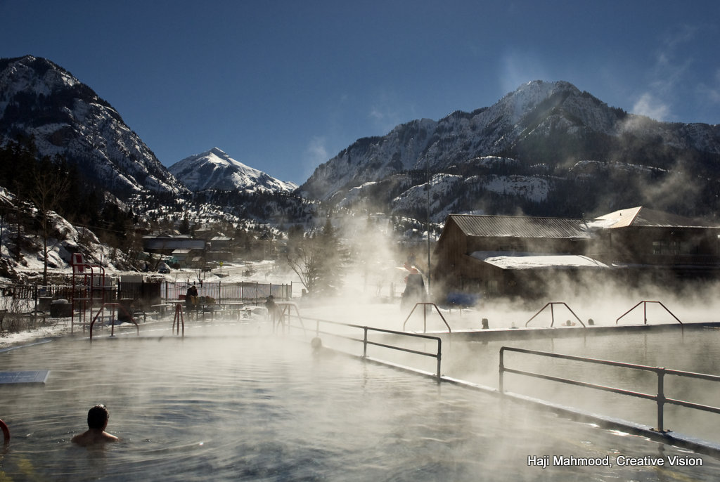 Ouray Hot Springs Pool, photo by Haji Mahmood