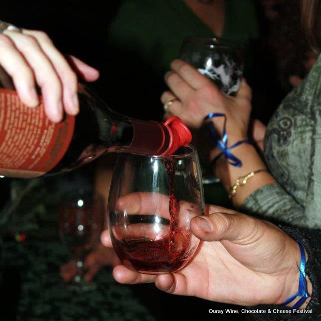 Ouray Wine, Chocolate & Cheese Festival. HeidiTown.com