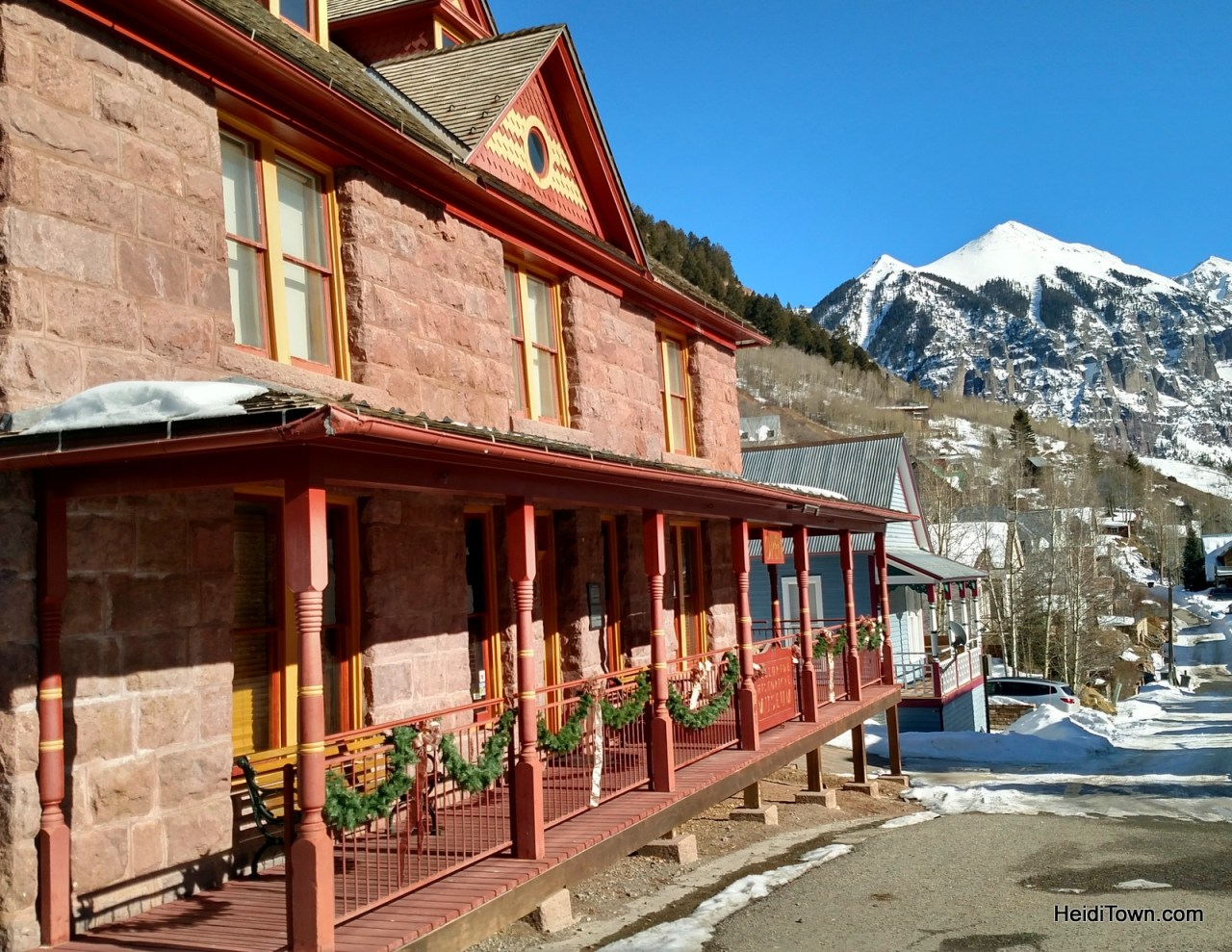 Telluride Historical Museum. Things to do in Telluride when you're not skiing. HeidiTown.com