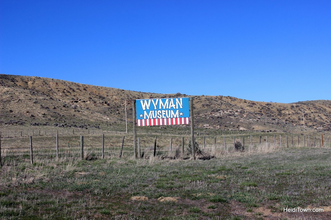 A stop at the Wyman Museum in Craig, Colorado. HeidiTown (4)