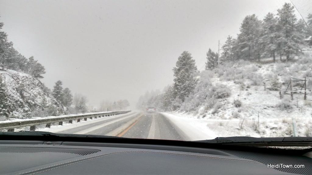 Kenosha pass area. Colorado travel, be prepared. Springtime in the Colorado Rockies. HeidiTown.com