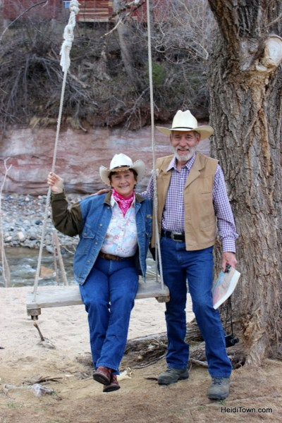 Susan Jessup & husband Dr. David Armstrong. Owners of Sylvan Dale Ranch in Loveland, Colorado. HeidiTown.com