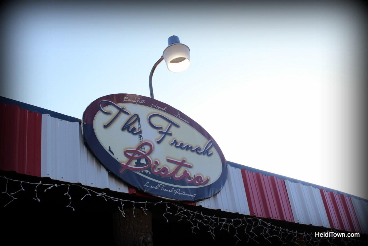 The French Bistro in Craig, Colorado. HeidiTown.com