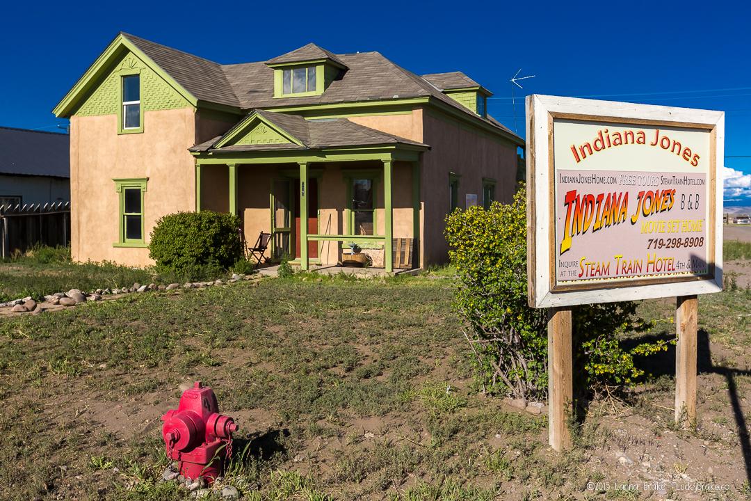 Indiana Jones House in Antonito, Colorado. Photography by Alanna Brake, Lucky Brake, Ltd. HeidiTown.com