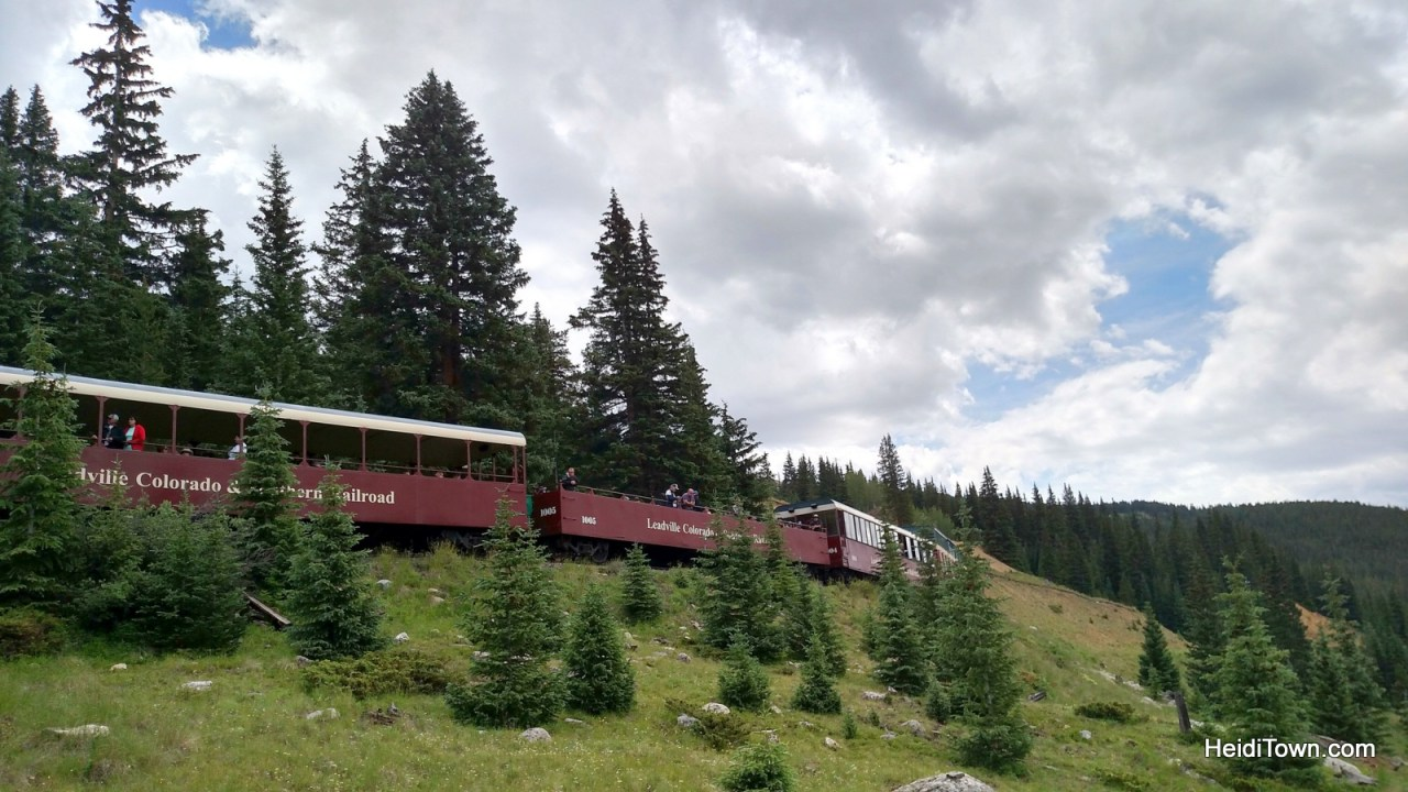 Leadville, Colorado & Southern Railroad. Top of the Rockies Zip Lines. HeidiTown.com