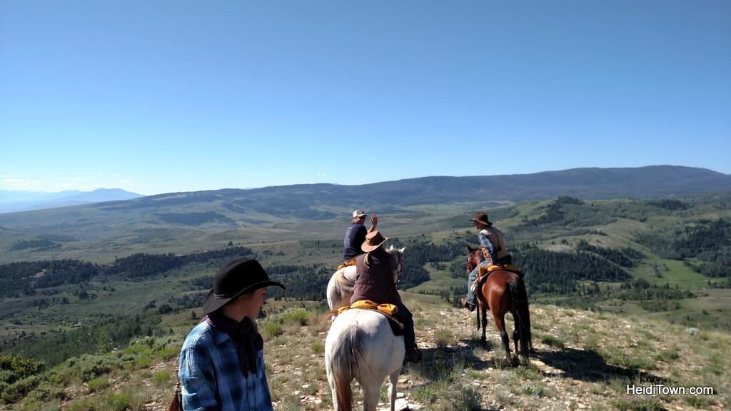 Atop a high bluff at Latigo Ranch. HeidiTown.com