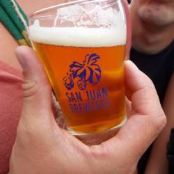 tasting mug at San Juan Brewfest