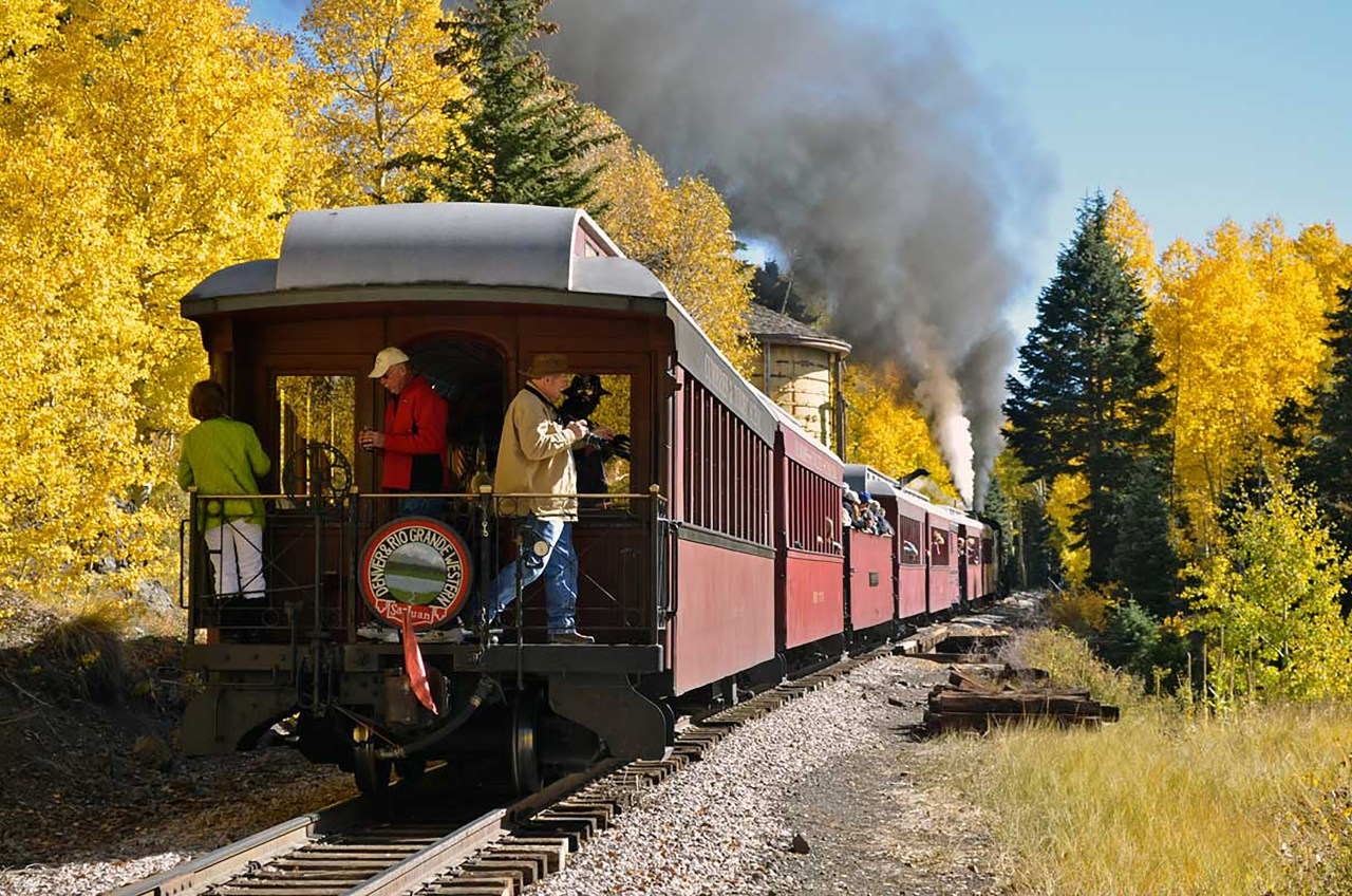 Enjoy fall to the fullest in Colorado. cumbres & toltec scenic railroad. HeidiTown.com