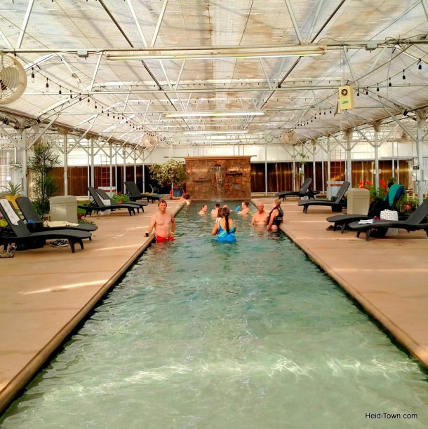 An Oasis in Southern Colorado. Adults area at Sand Dunes Swimming Pool & Hot Springs. HeidiTown.com