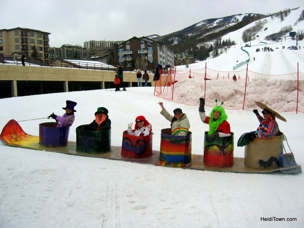 Cardboard Classic in Steamboat Springs, Colorado. HeidiTown.com