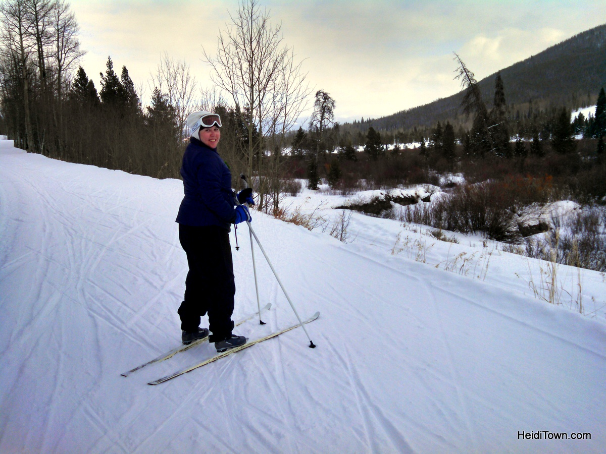 Snow Mountain Ranch, a winter sports wonderland. Cross Country Skiing HeidiTown.com