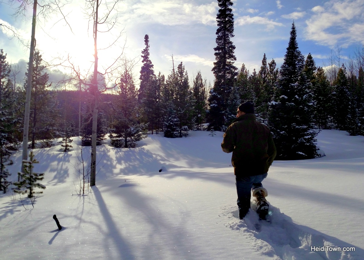 Snow Mountain Ranch, a winter sports wonderland. Snowshoeing HeidiTown.com